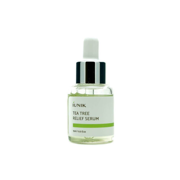 asian authentic genuine original korean skincare montreal toronto canada thekshop thekshop.ca natural organic vegan cruelty-free cosmetics IUNIK Tea Tree Relief Serum Mini