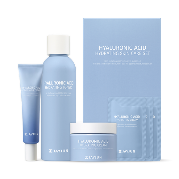 JAYJUN Hyaluronic Acid Hydrating Skin Care Set asian authentic genuine original korean skincare montreal toronto canada thekshop thekshop.ca natural organic vegan cruelty-free cosmetics