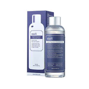 KLAIRS Supple Preparation Unscented Toner asian korean skincare montreal toronto canada thekshop thekshop.ca natural organic vegan cruelty-free cosmetics