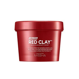 MISSHA Amazon Red Clay Pore Mask asian korean skincare montreal toronto canada thekshop thekshop.ca natural organic vegan cruelty-free cosmetics