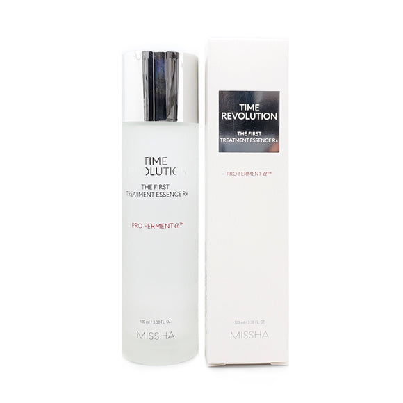 Missha, Time Revolution, The First Treatment Essence Rx Asian Korean skincare montreal canada organic natural vegan cruelty-free cosmetics thekshop thekshop.ca
