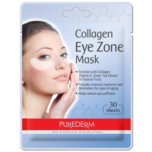 PUREDERM Collagen Eye Zone Mask asian authentic genuine original korean skincare montreal toronto canada thekshop thekshop.ca natural organic vegan cruelty-free cosmetics