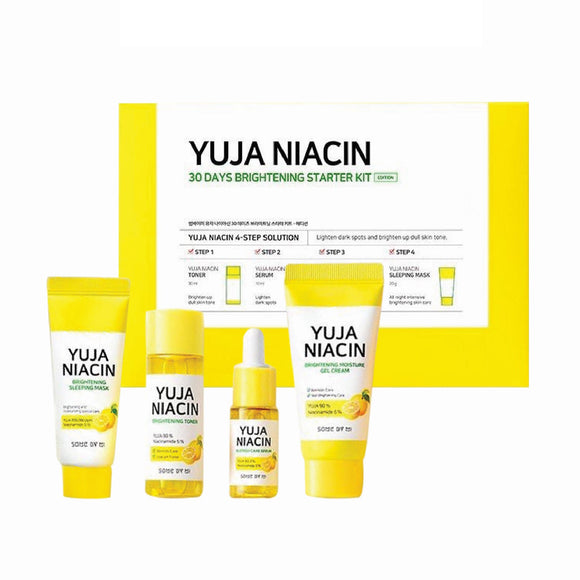 Some By Mi Yuja Niacin 30 Days Brightening Starter Kit Korean Skincare Cosmetics Canada Montreal Toronto thekshop thkeshop.ca