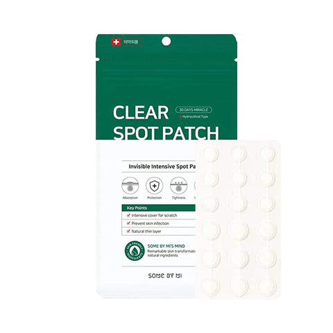 SOME BY MI 30 DAYS MIRACLE CLEAR SPOT PATCH asian korean skincare montreal toronto canada thekshop thekshop.ca natural organic vegan cruelty-free cosmetics