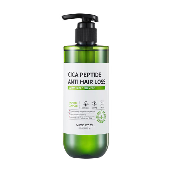 SOME BY MI Cica Peptide Anti Hair Loss Derma Scalp Shampoo asian korean skincare montreal toronto canada thekshop thekshop.ca natural organic vegan cruelty-free cosmetics