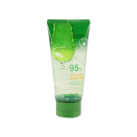 THE SAEM 95% JEJU FRESH ALOE SOOTHING GEL Montreal Toronto Korean Skincare Cosmetics Canada