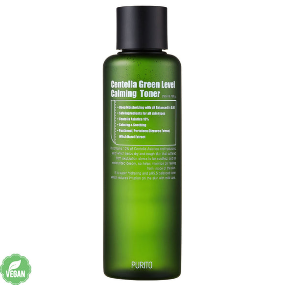 Search Results Web results  PURITO Centella Green Level Calming Toner Canada Montreal Toronto asian skincare cosmetics thekshop thekshop.ca vegan cruelty free natural organic