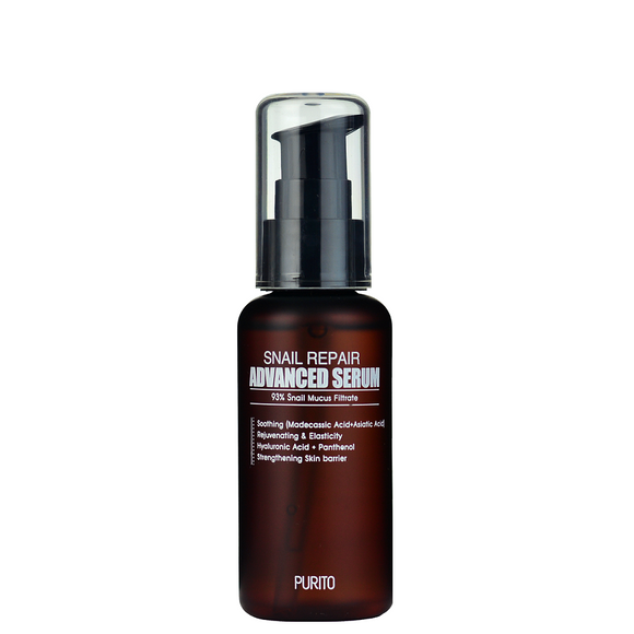 Purito Snail Repair Advanced Serum korean skincare cosmetics montreal toronto canada thekshop thekshop.ca