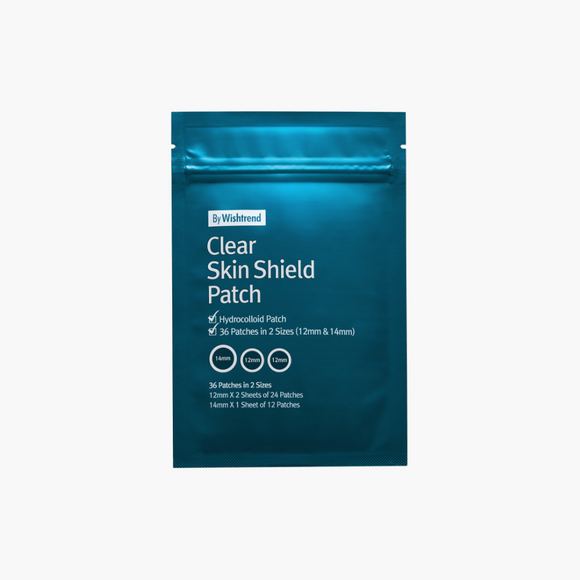 BY WISHTREND Clear Skin Shield Patch asian korean skincare montreal toronto canada thekshop thekshop.ca natural organic vegan cruelty-free cosmetics