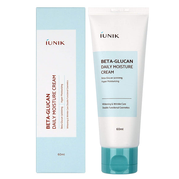 iUNIK Beta Glucan Daily Moisture Cream 60ml Canada Korean asian skincare cosmetics montreal toronto