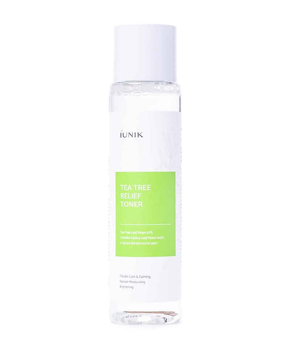 iUNIK Tea Tree Relief Toner 200ml Korean asian skincare cosmetics Canada Montreal Toronto cruelty-free vegan