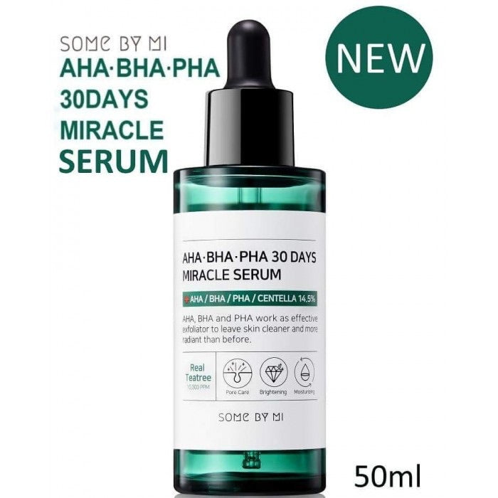 SOME BY MI AHA-BHA-PHA 30 DAYS MIRACLE SERUM asian korean skincare montreal toronto canada thekshop thekshop.ca natural organic vegan cruelty-free cosmetics