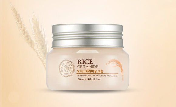 THE FACE SHOP Rice & Ceramide Moisturizing Cream