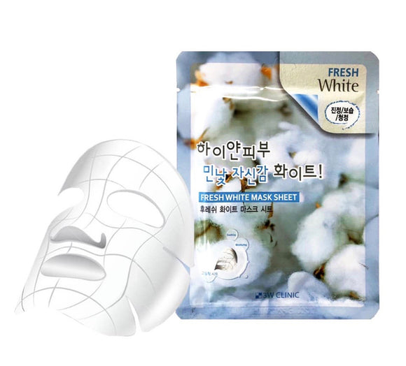 3W CLINIC FRESH WHITE MASK SHEET