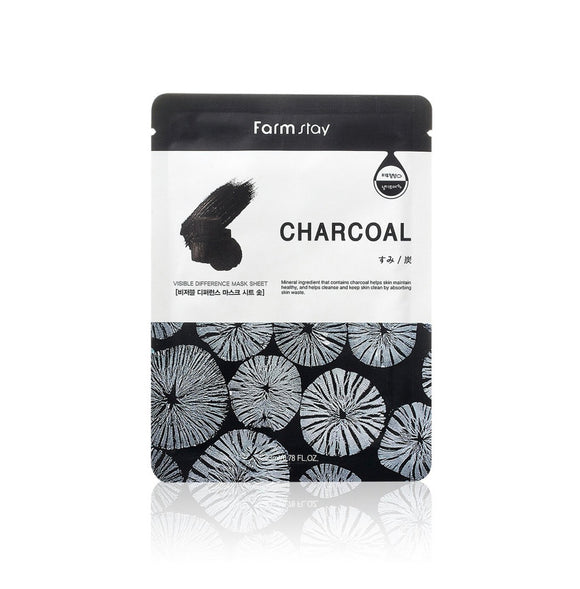FARM STAY CHARCOAL VISIBLE DIFFERENCE MASK
