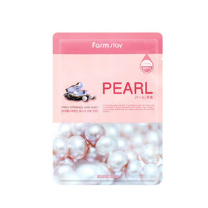 FARM STAY PEARL VISIBLE DIFFERENCE MASK SHEET
