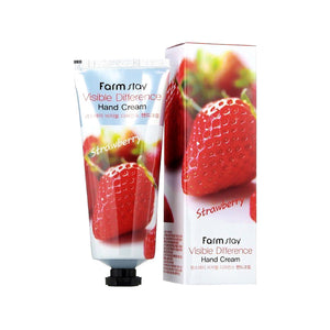 Visible Difference Hand Cream - Strawberry Canada Korean Asian Skincare KBeauty