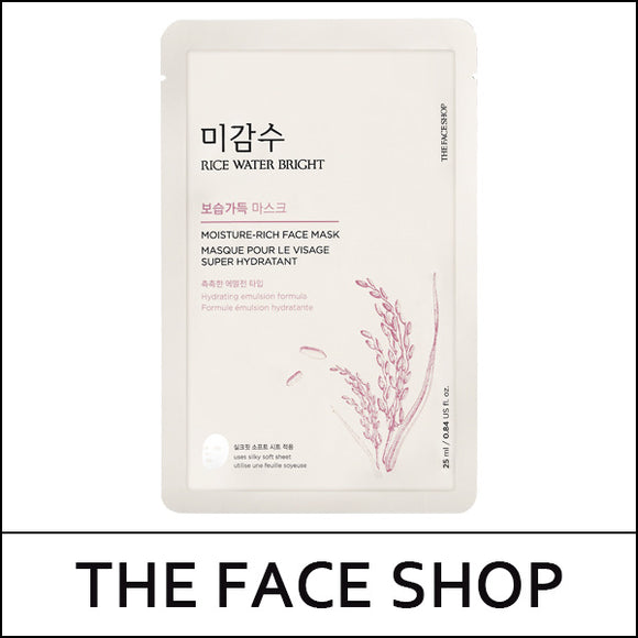THEFACESHOP RICE WATER Bright Moisture Rich Mask
