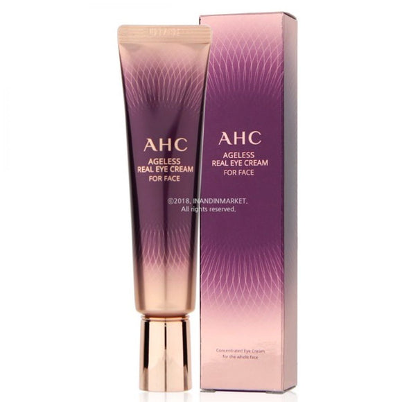AHC ageless real eye cream korean anti-age antiage asian skincare Canada Montreal Toronto