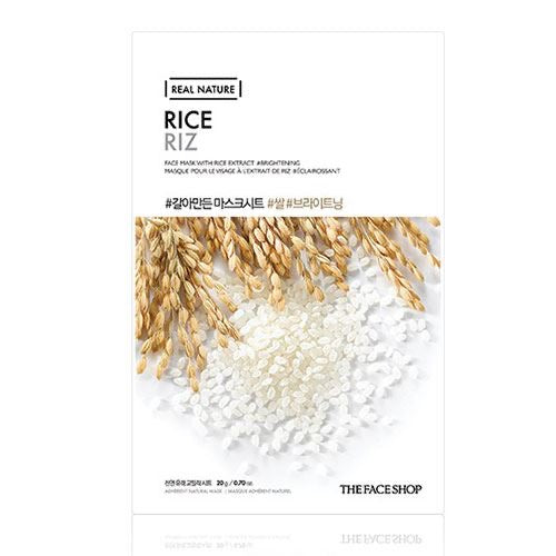 THEFACESHOP Real Nature Rice Face Mask