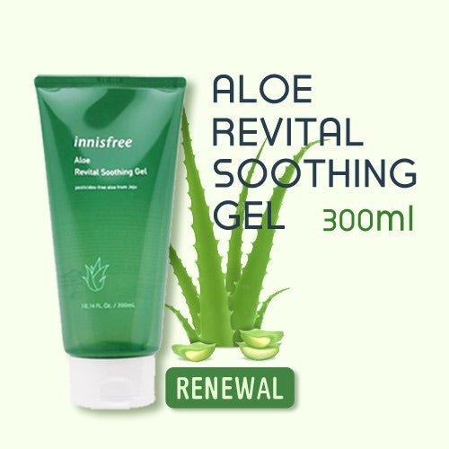 INNISFREE Aloe revital soothing gel asian korean skincare cosmetics canada montreal toronto