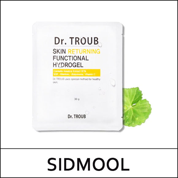 SIDMOOL ★  Dr.TROUB Skin Returning Functional Hydrogel Premium mask