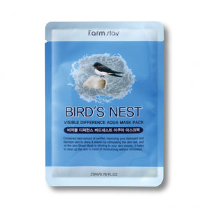 FARM STAY BIRD'S NEST VISIBLE DIFFERENCE AQUA MASK