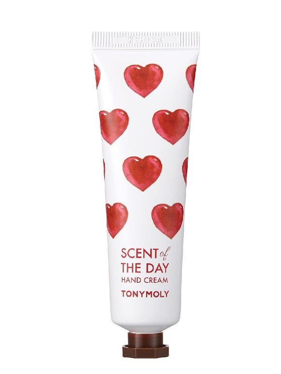 TONYMOLY Scent Of The Day Hand Cream - So Romantic asian korean skincare montreal toronto canada thekshop thekshop.ca natural organic vegan cruelty-free cosmetics