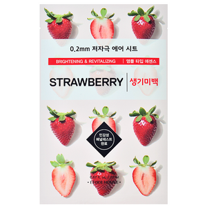 ETUDE HOUSE  STRAWBERRY 0.2 THERAPY AIR MASK