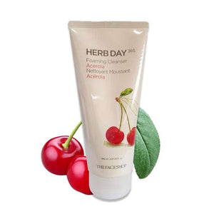The Face Shop Herb Day 365 Cleansing Foam - Acerola -