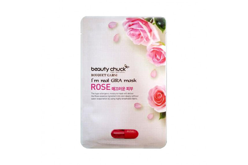 BEAUTY CHUCK I'M REAL GIRA MASK ROSE