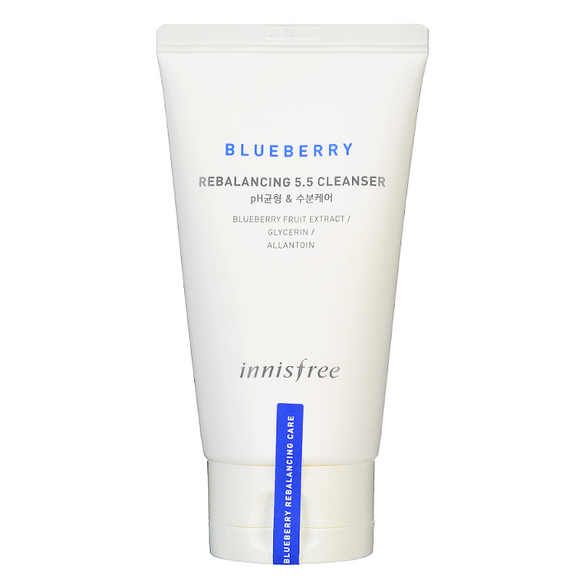 INNISFREE BLUEBERRY REBALANCING 5.5 CLEANSER asian korean skincare cosmetics canada montreal toronto