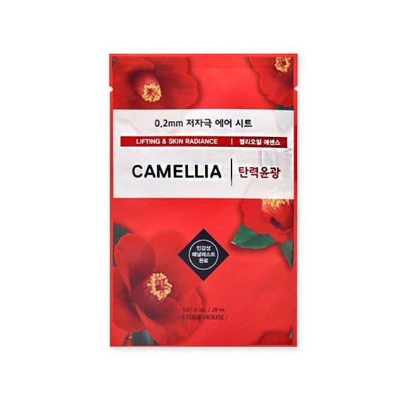 ETUDE HOUSE CAMELLIA 0.2 THERAPY AIR MASK