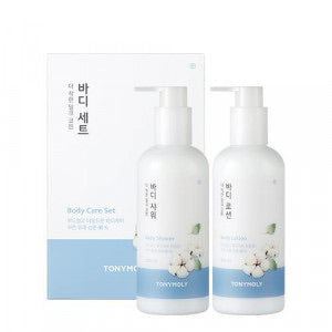 TONYMOLY The Natural Kind Milk Cotton Body Care Set THEKSHOP EXCLUSIVE