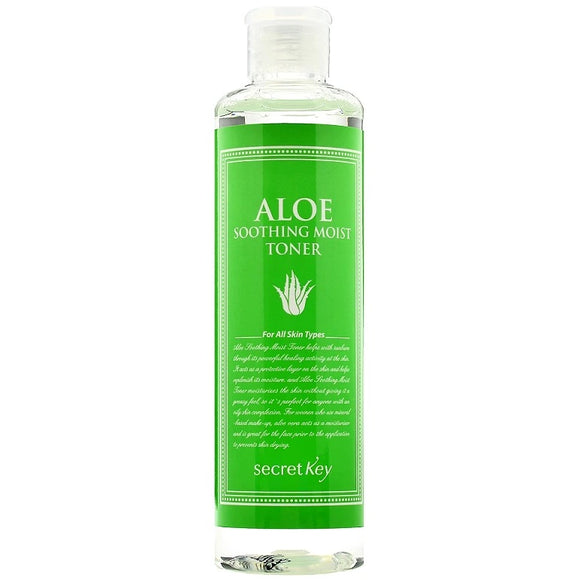 SECRET KEY Aloe Soothing Moist Toner asian authentic genuine original korean skincare montreal toronto canada thekshop thekshop.ca natural organic vegan cruelty-free cosmetics