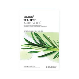 THEFACESHOP The face shop real nature tea tree mask