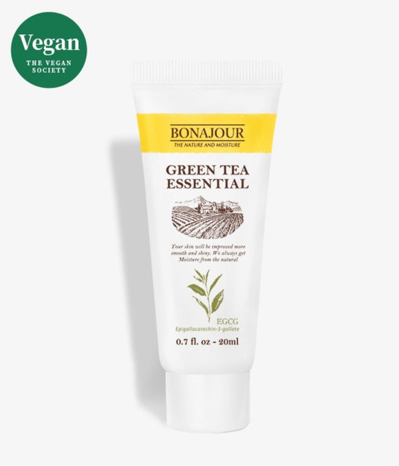 "BONAJOUR Green Tea Essential ""VEGAN"" soothing gel"