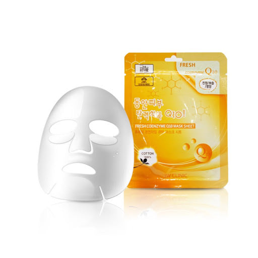 3W CLINIC FRESH COENZYME Q10 MASK SHEET