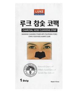 LUKE total skin solution charcoal nose cleansing strip