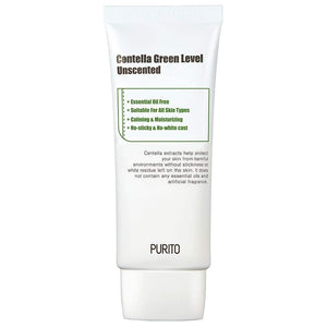 Purito Centella Green Level Unscented - 60ml Canada Montreal Toronto Vancouver Korean Asian Skincare sunscreen cruelty-free