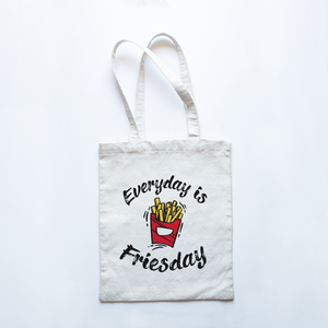 Everyday is Friesday - Premium Tote Bag