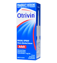 Otrivin Nasal Spray 10 ml