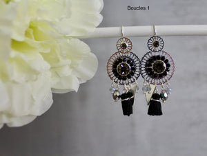 BOUCLES D'OREILLES - DIFFERENTS MODELES