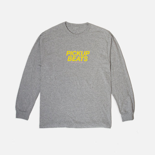 PickUp Beats Long Sleeve Shirt (Space Grey)