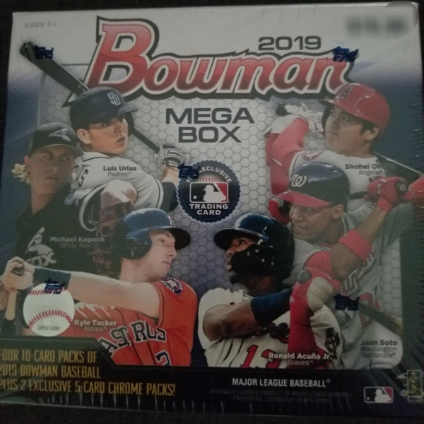 2019 Bowman Chrome Mega Box