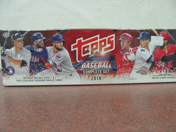 2018 Topps Factory Set Series 1 & 2