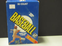 1981 Donruss Baseball Unopened Box 36 Wax Packs of 18 Cards First Edition