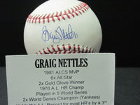 Graig Nettles Auto Baseball Autograph Signed TriStar Authentic NY Yankees