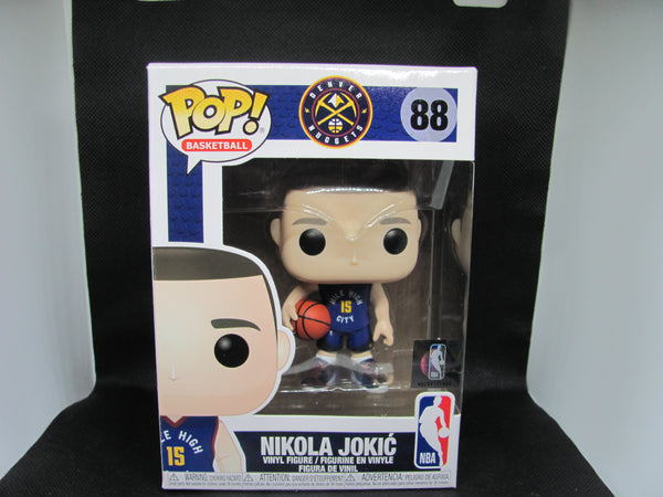 "Funko Pop! Basketball: Denver Nuggets - NBA Center Nikola Jokic #88 ""The Joker"