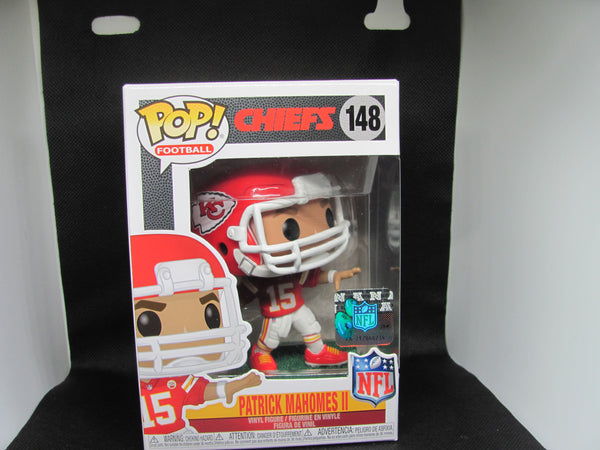 PATRICK MAHOMES II #148 POP! FOOTBALL NFL MVP KC CHIEFS FUNKO - CASE INCLUDED!!!